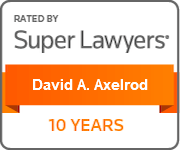 David A Axelrod SuperLawyers Milestone